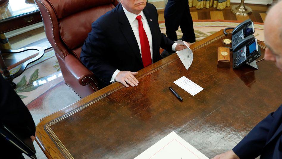 Trump im Weißen Haus