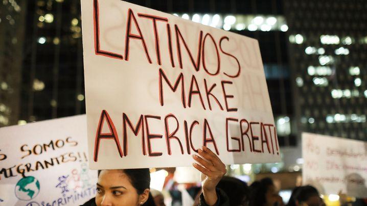US-Einwanderer: Zäune, Mauern, Razzien