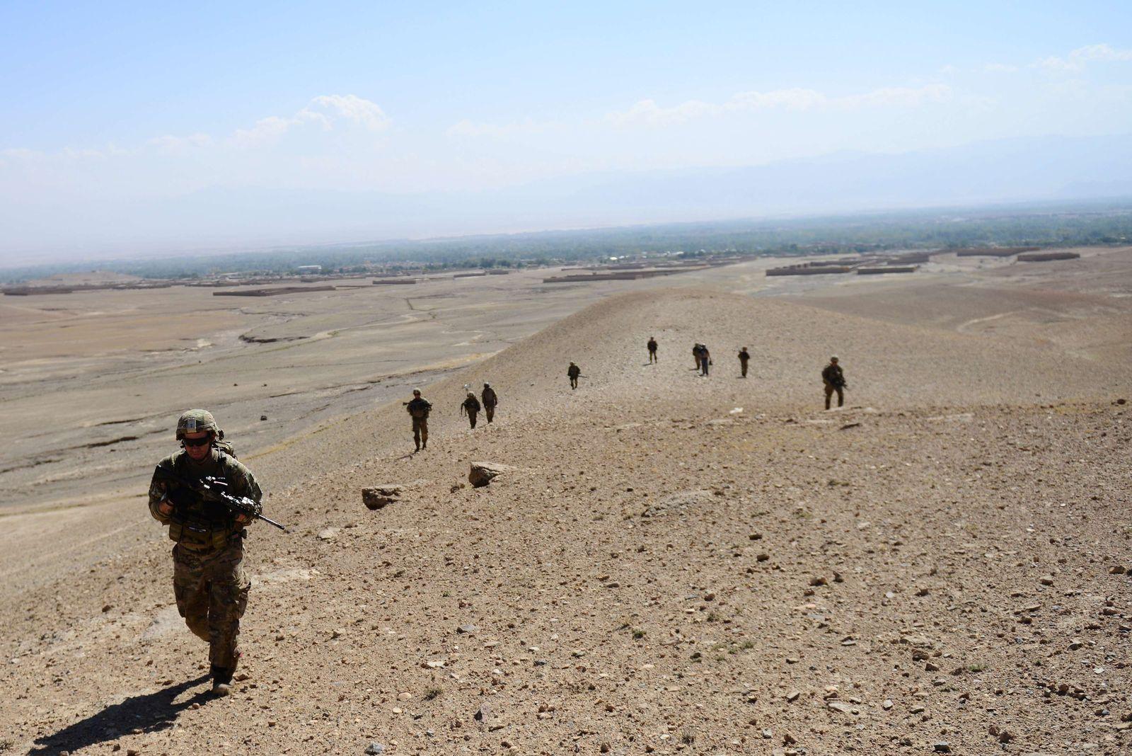 afghanistan us-truppen steine