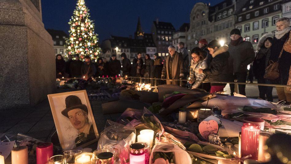 Gedenken an Opfer des Anschlags von Straßburg