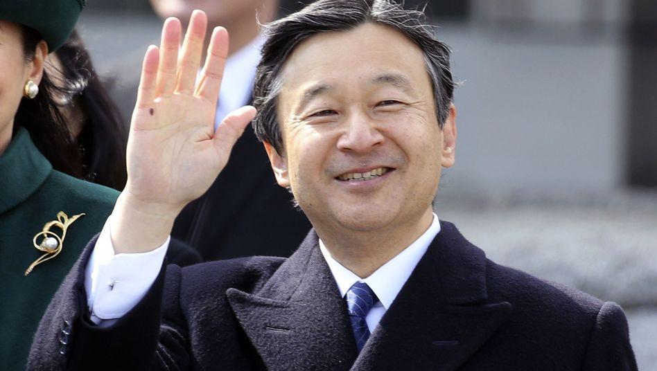 Noch ist Naruhito der Kronprinz Japans, am 1. Mai wird er seinem Vater auf den Thron folgen