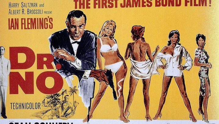 Die James-Bond-Filmplakate: 007 als Posterboy