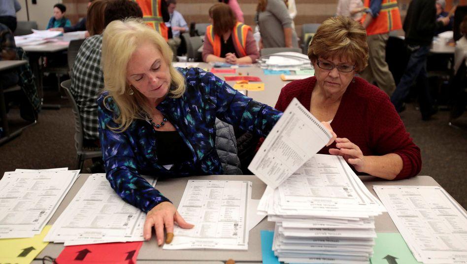 Neuauszählung der Stimmen in Michigan