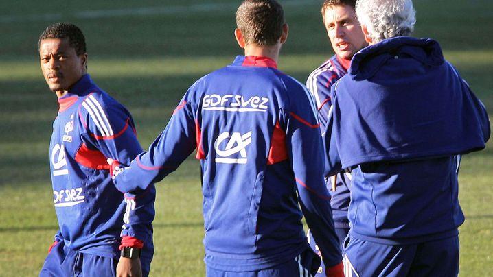 Französisches Team: Meuterei in Blau