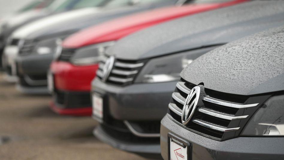 VW-Passat bei einem Autohändler in den USA