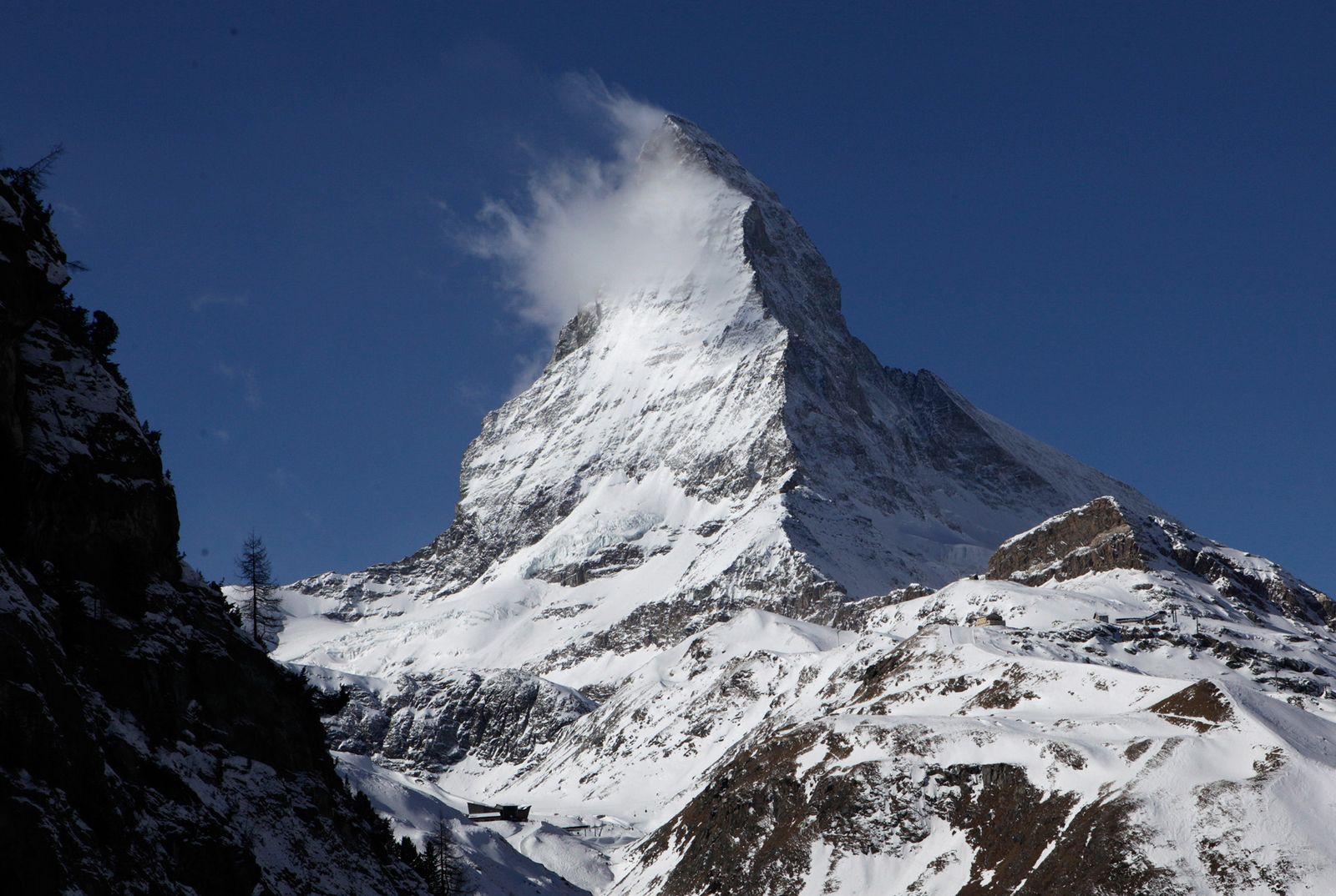 Alpen / Urlaub / Symbol