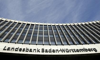 LBBW-Gebäude: Chef Jaschinski erwartet Belastungen im unteren dreistelligen Millionenbereich infolge der Lehman-Pleite