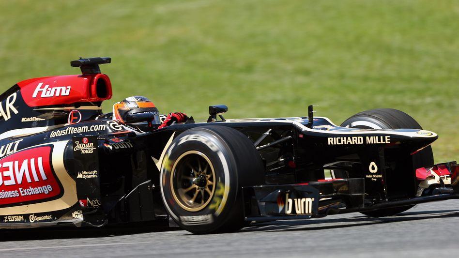 Lotus-Pilot Räikkönen: Zweiter im WM-Klassement