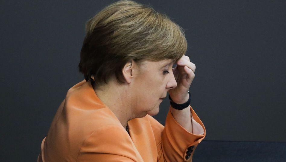Kanzlerin Merkel: Ruhe bewahren in der Griechenlandkrise