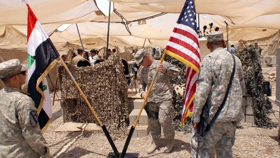 Abzug der Amerikaner: Letzte US-Truppen verlassen Irak