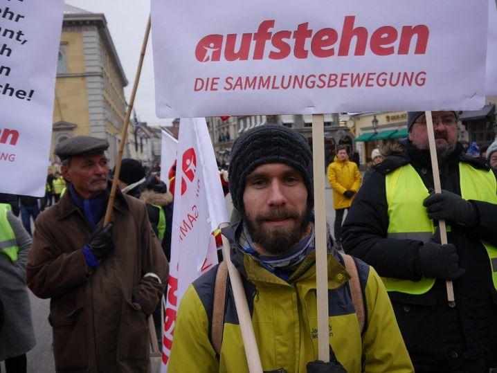 """""""Aufstehen""""-Aktivist Bastian Pflüger"""