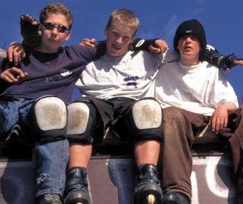 Jugendliche beim Freizeitsport: Brav bleiben durch Ausgangssperre