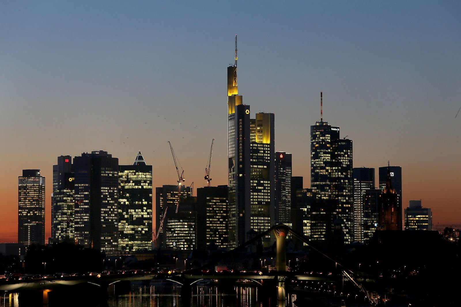 Banken / Skyline Frankfurt