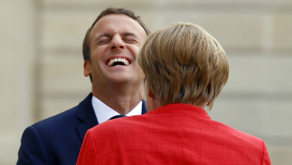Photo Gallery: Emmanuel Macron Takes On the World