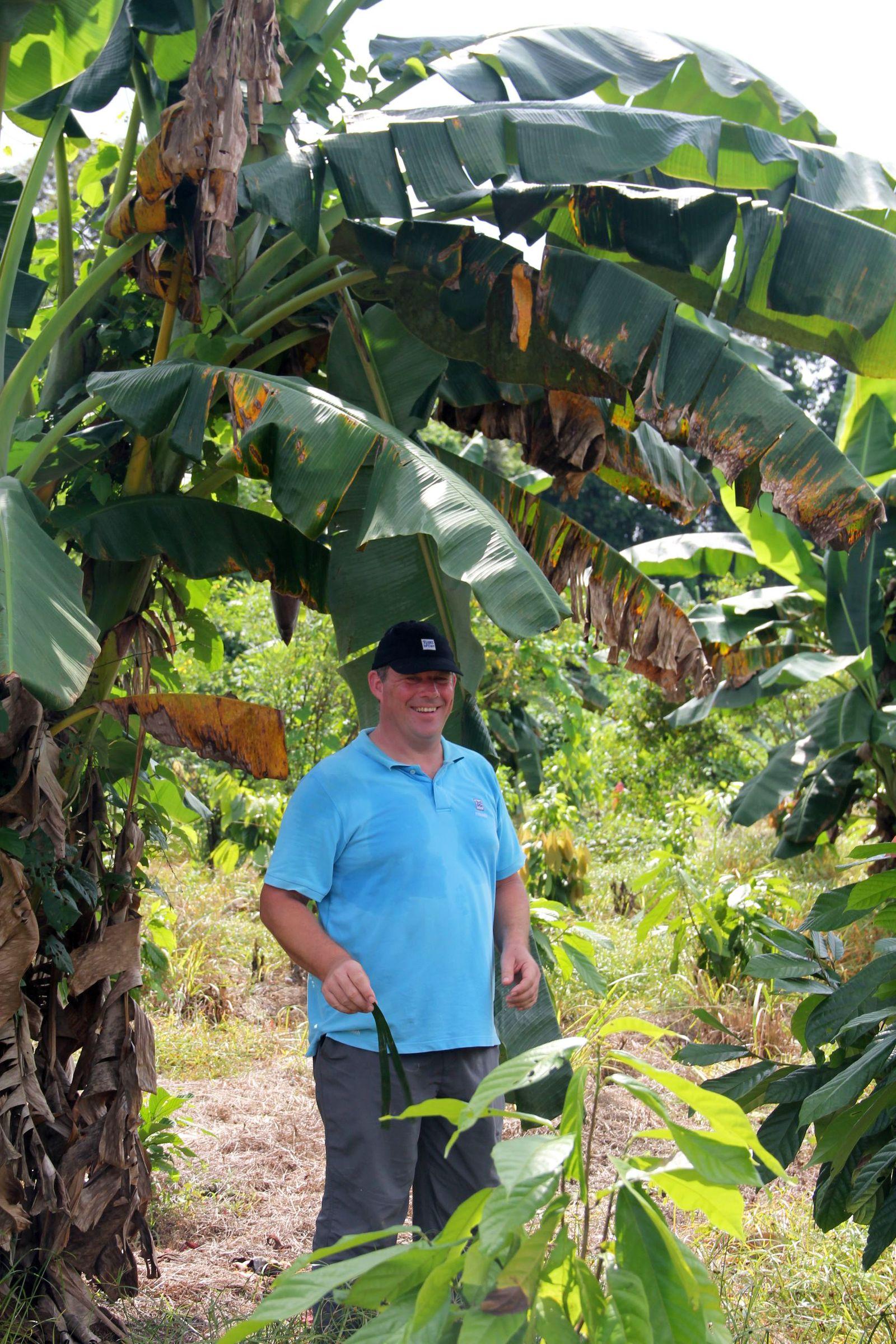 Markus Schmid und El Cacao