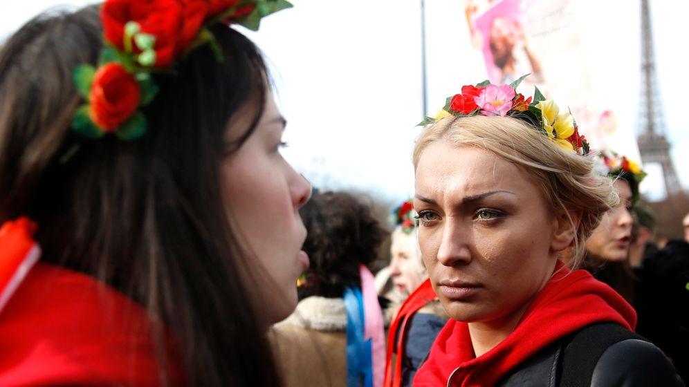 Inna Schewtschenko: Femen-Aktivistin aus der Ukraine