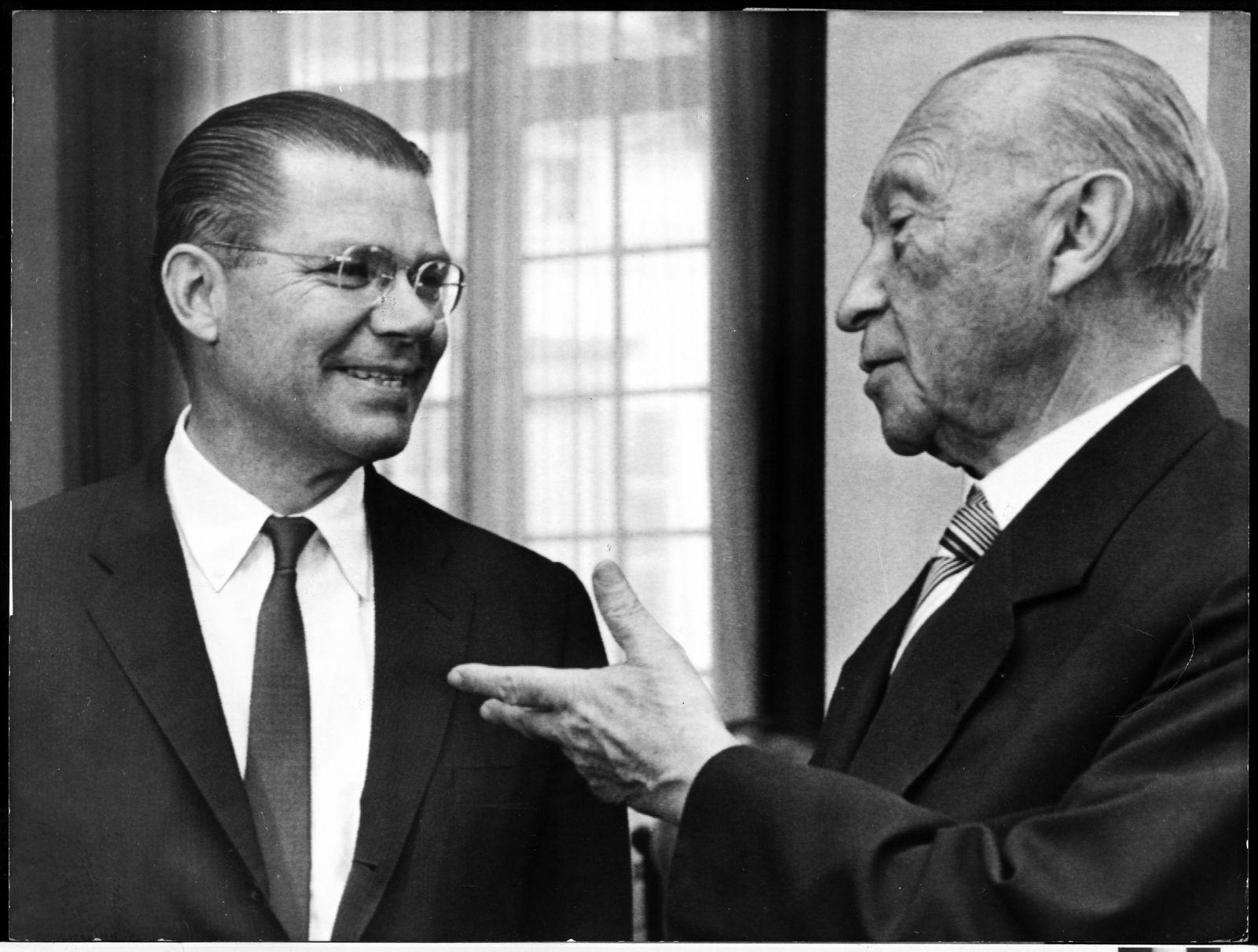 Robert McNamara / Konrad Adenauer