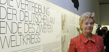 Erika Steinbach is head of the Federation of Expellees, a group dedicated to documenting the suffering of Germans expelled from parts of Eastern Germany following World War II.