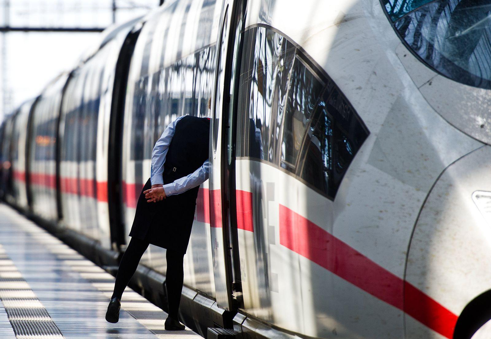 Deutsche Bahn - Lokführerstreik