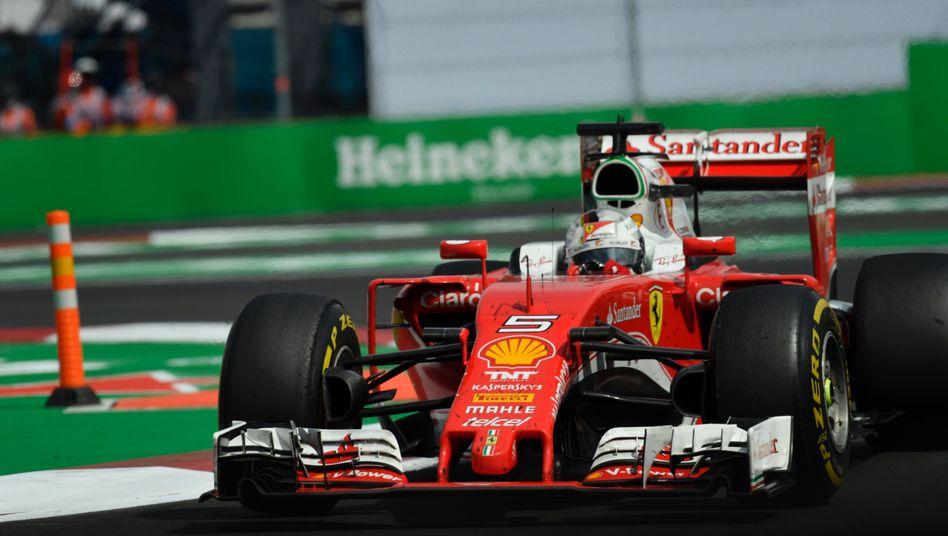 Sebastian Vettel im Ferrari
