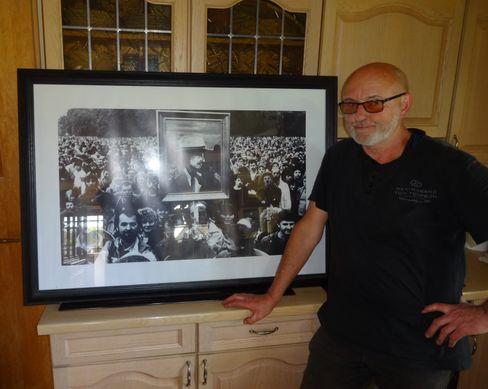 Dylan-Fan Straach und das bekannte Foto