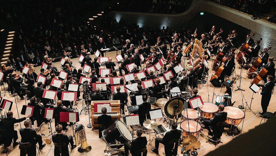 Dirigent Gergiev, Münchner Philharmonikern in Hamburg