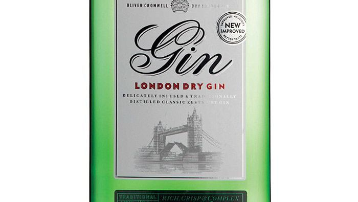 Aldis Oliver Cromwell London Dry Gin