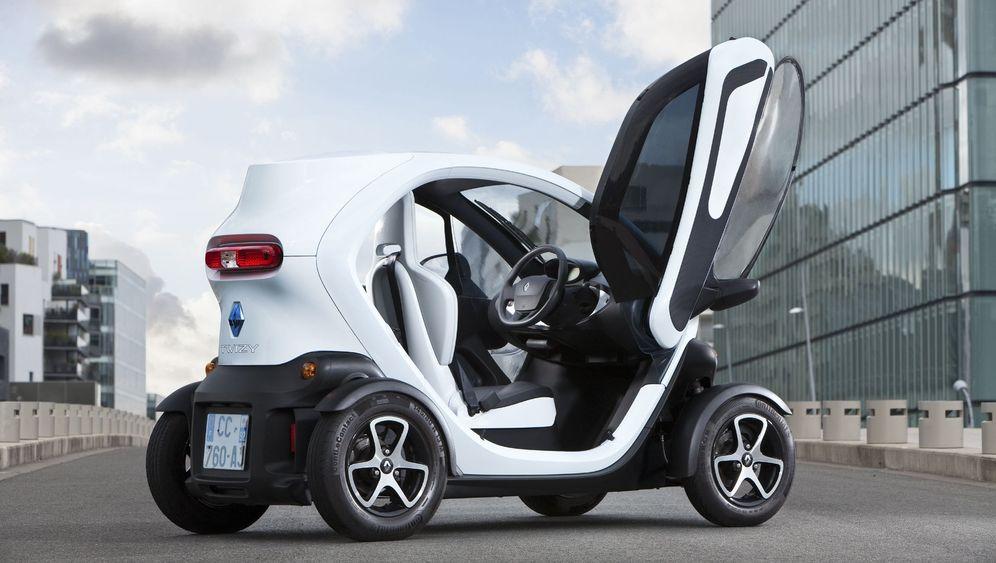 Renault Twizy: Seitenscheiben für den Schmalspur-Stromer