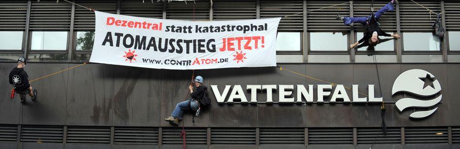 Anti-Vattenfall-Protest (2009): Streit um die Energiewende