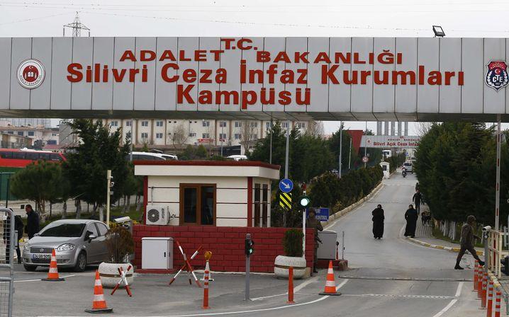 Zugang zum Silivri-Gefängnis