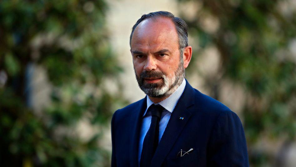 Den drei französischen Politikern um den ehemaligen Premier ÉdouardPhilippe wird fehlende Bekämpfung einer Katastrophe vorgeworfen