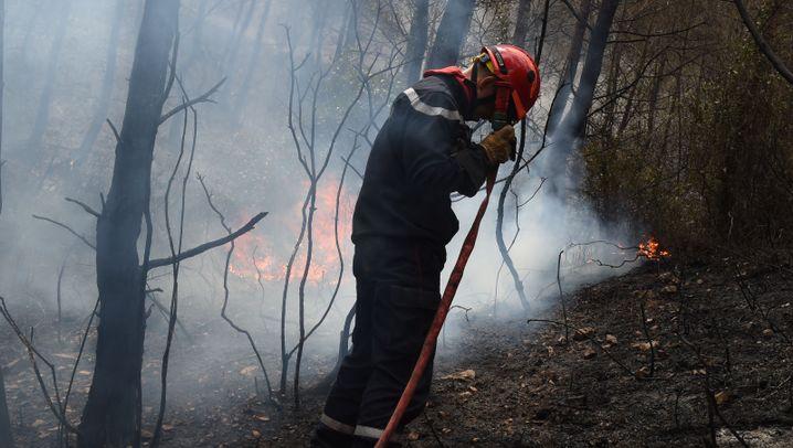 Spanien und Südfrankreich: Feuer im Ferienparadies