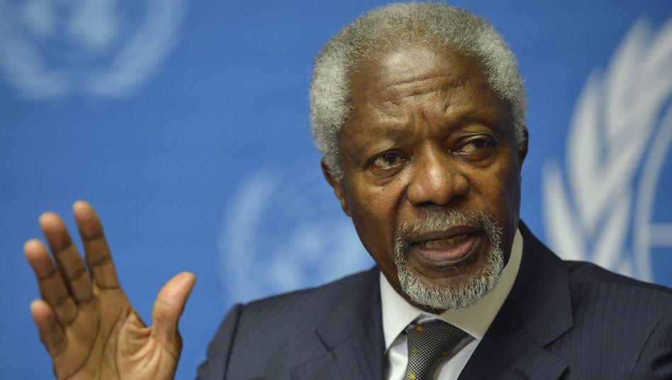 Uno-Sondergesandter Annan: Neuer Friedensplan mit Übergangsregierung