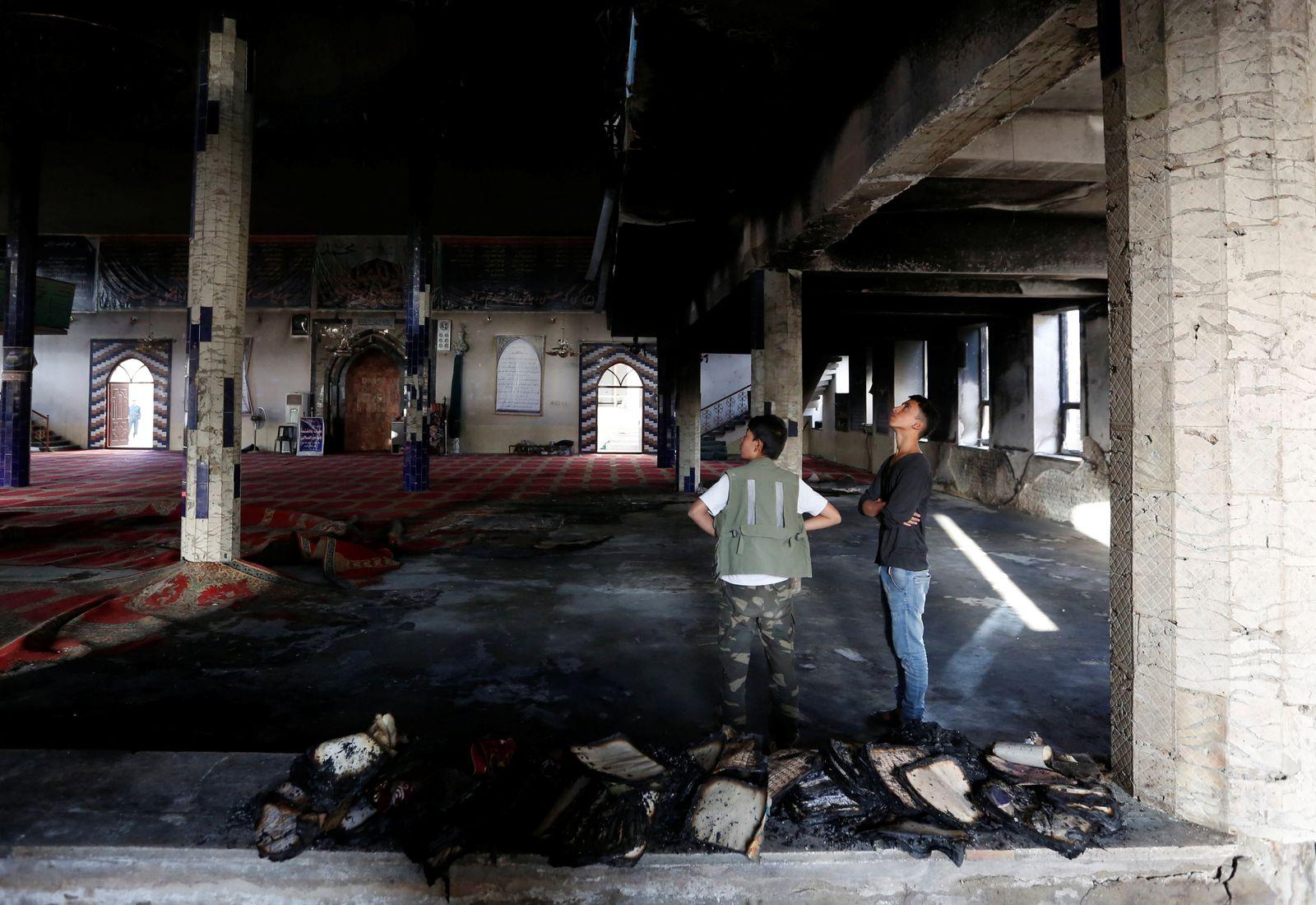 Kabul/ Moschee/ Anschlag