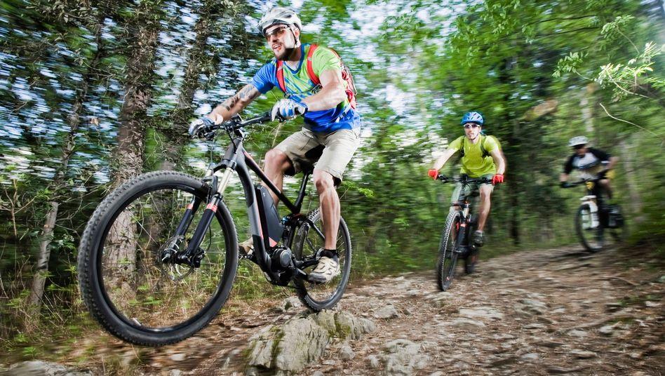 E-Mountainbikes: Sie machen es zu einfach