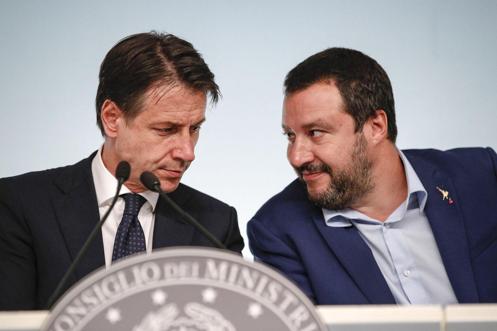 Giuseppe Conte / Matteo Salvini