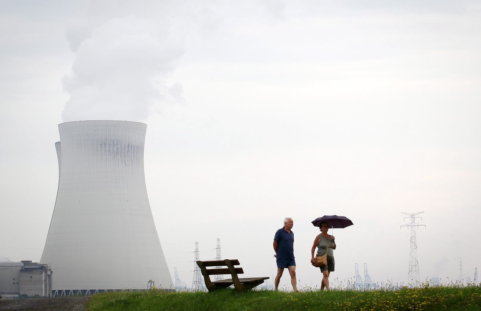 Nuclear power plant in Doel