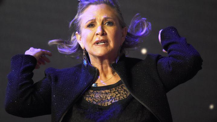 Die alte Leia: Carrie Fisher verteidigt ihren Körper