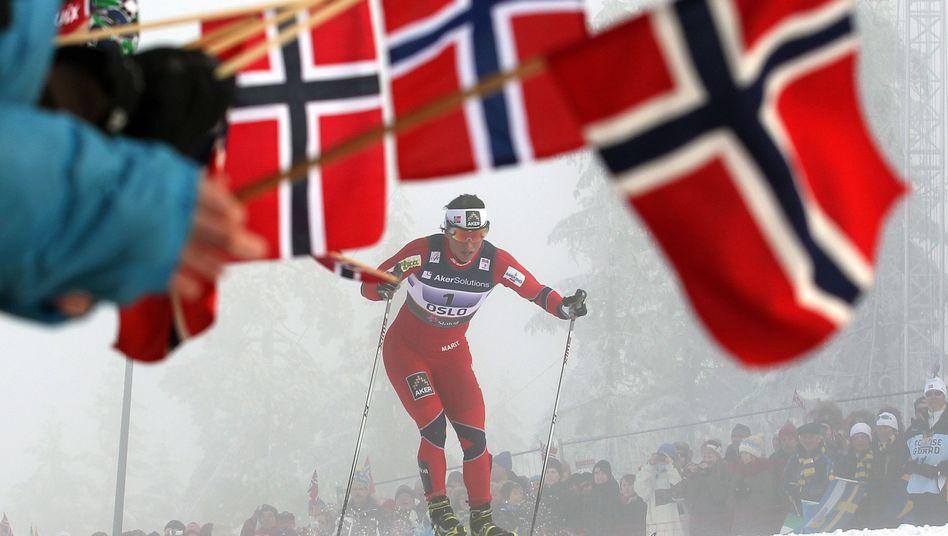 Skirennen am Holmenkollen nahe Oslo: Keine staatlichen Garantien