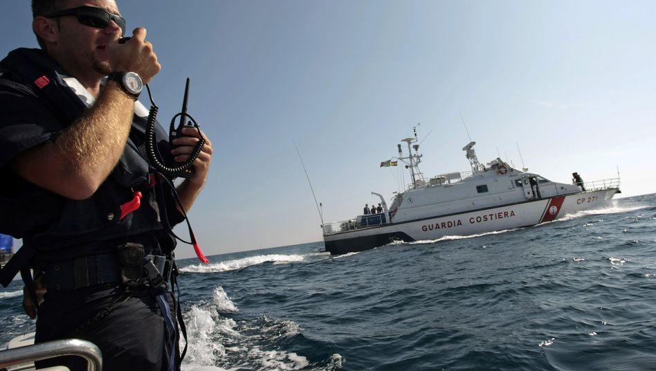 Italienische Küstenwache (Archiv)