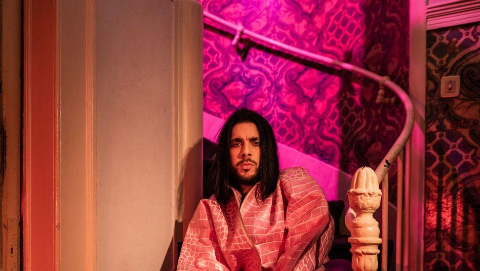 Hat im Flamboyanzbedarf tief ins Täschchen gegriffen: Portugals Conan Osiris