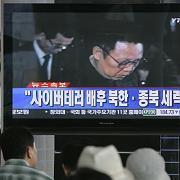 Auch das südkoreanische Fernsehen spekuliert: Steckt Nordkorea hinter den Attacken?