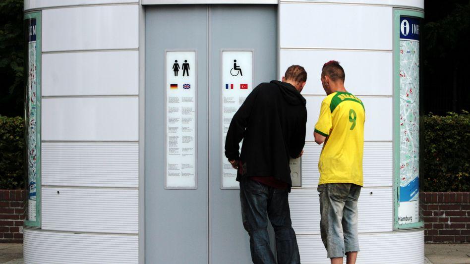 Öffentliche Toilette in Hamburg: Unterschätzte Informationsquelle