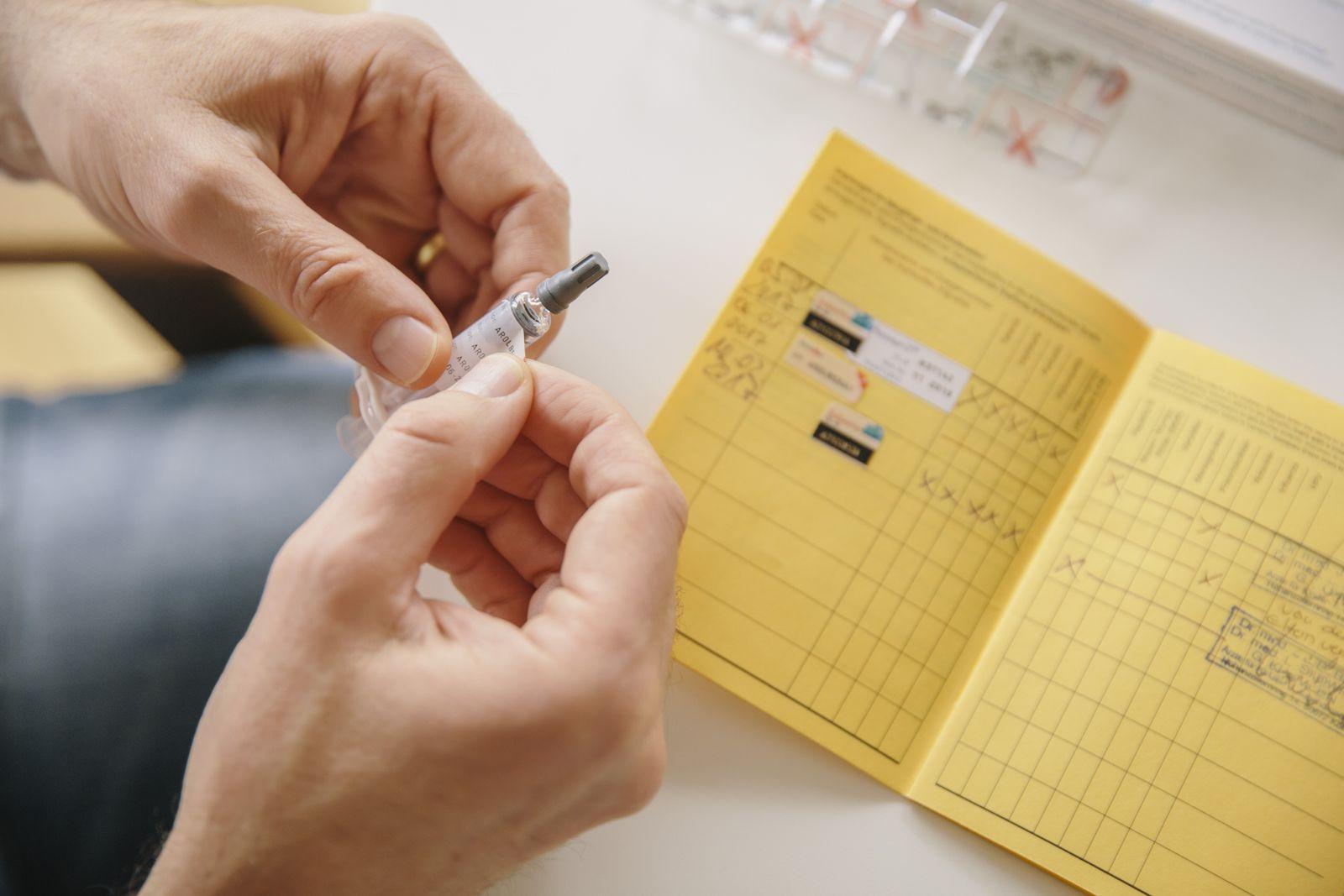 EINMALIGE VERWENDUNG Impfen