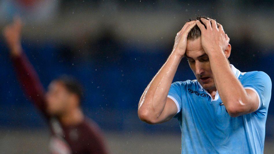 Nationalstürmer Klose: Niederlage mit Lazio Rom
