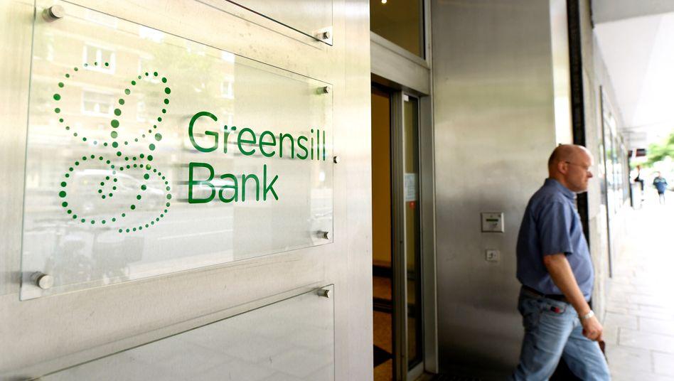 Ingresso alla Greensill Bank di Brema (2019)