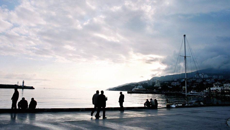 Uferpromenade in Jalta