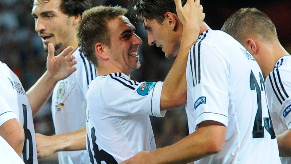 Nationalspieler Gomez: Zwei Tore gegen die Niederlande