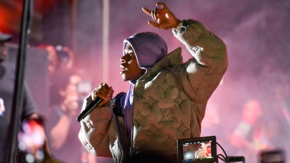 Rapper DaBaby auf einem Festival in Florida im Februar 2020