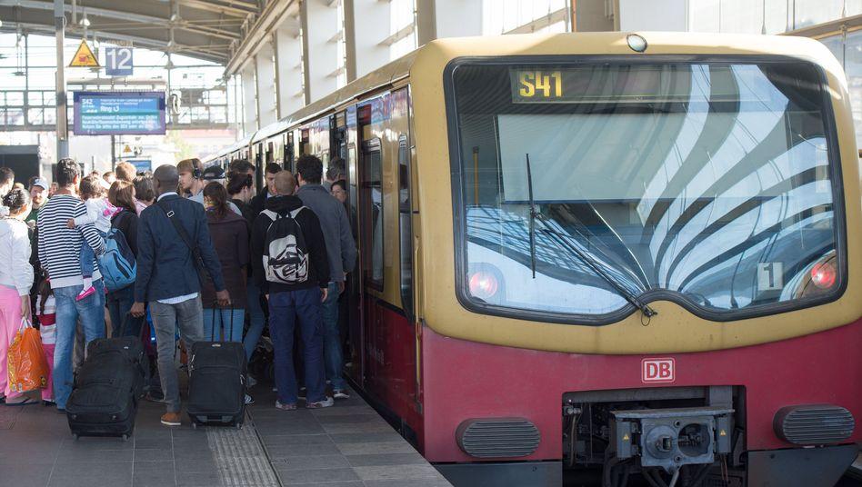 S-Bahn in Berlin: Die Gewerkschaft GDL hat zum Streik aufgerufen